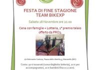 Cena di fine stagione Team BikeXP